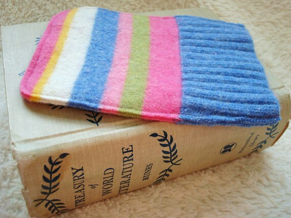 Nook Simple Touch Cover, Kindle 4, Kobo Touch Case PASTEL STRIPES