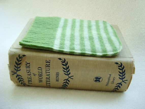 Nook Simple Touch Cover Kindle 4 Kobo Case APPLE GREEN by WormeWoole