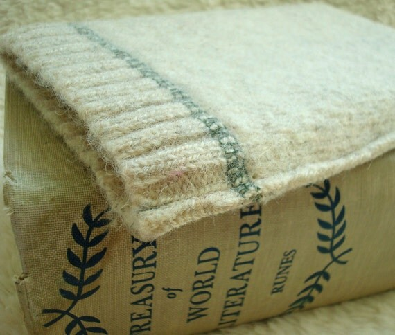 Kindle Case NATURAL Felted Sweater Wool Kindle Cover