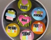 Mom Mother Gift Magnet Set 7 magnets from Dot Thoughts