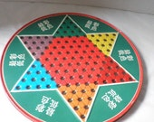 Chinese Checkers Tin Circa 1960s