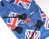 Kindle and Nook Cover: Union Jack MADE TO ORDER
