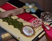 Bookmark Broach Vintage Festival Gift For Her