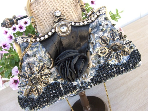 Purse Vintage Petite Glam Paris Chic Coachella