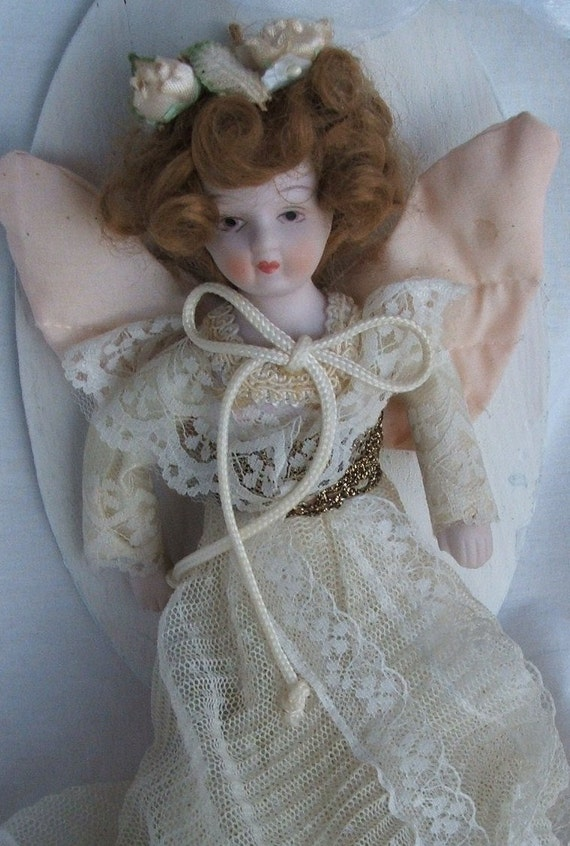 Antique Angel on Wall Hanging To Watch Over YOu