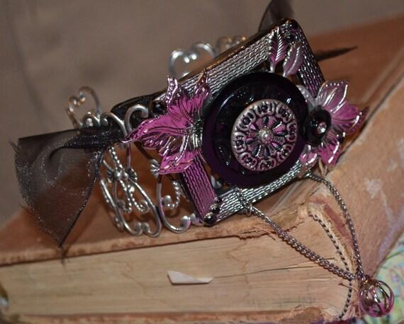 Bracelet Goth Vintage Upcycled Boho Gypsters