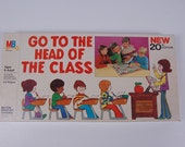 Vintage board game Go to the head of the class