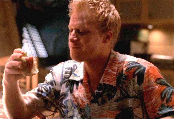 "Large Hoban ""Wash"" Washburn Vintage Hawaiian costume Firefly Serenity shirt"