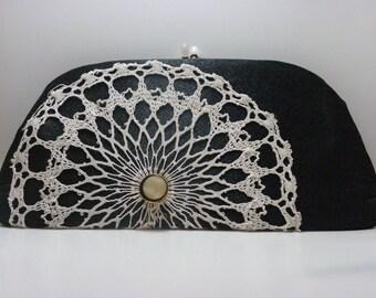 """Vintage Embellished """"Garcy"""" Clutch"""