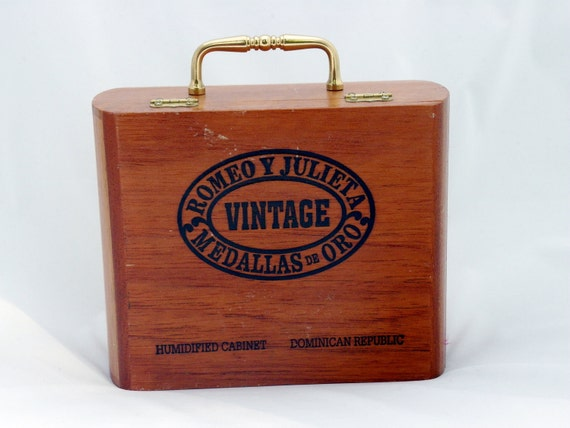 Vintage Romeo Y Julieta Cigar Box Purse