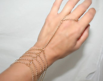 Slave bracelet,bracelet ring, ring bracelet, slave ring  adjustable, choose your color (m10,1 )