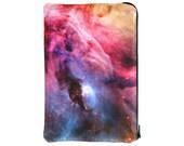 Orion Nebula Zipper Nook Color or Nook Tablet Cover
