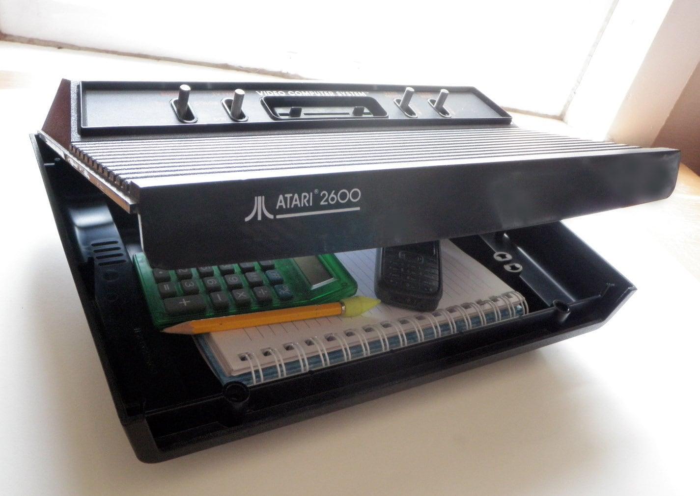 Atari 2600 Darth Vader Brief Case/ Tool Box by 1upForge on Etsy