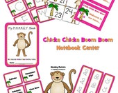 Chicka Chicka Boom Boom Theme Learning Resources - Digital Download