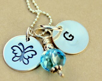 Jewelry Children, Girls Kids Jewelry Silver Necklace, Children Holiday Christmas Gift, Children Keepsake Jewelry, Butterfly,
