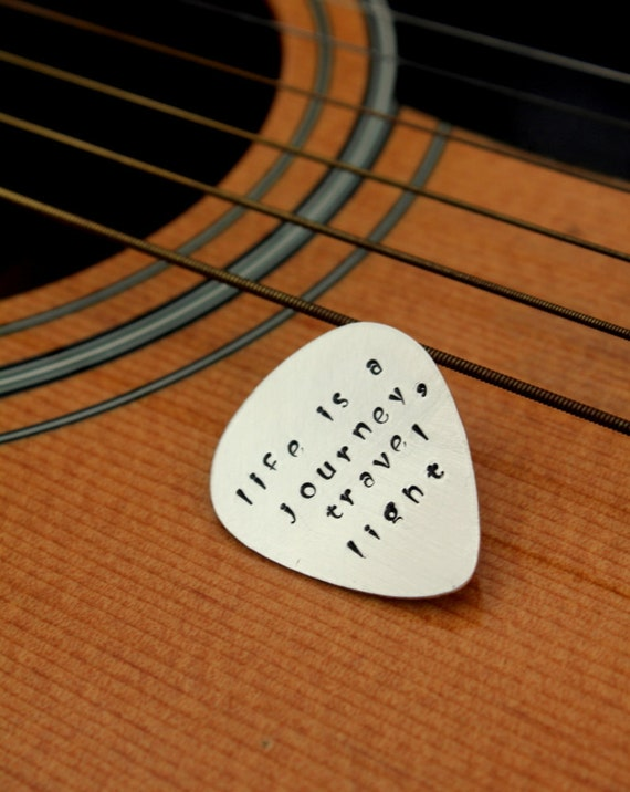 ... Guitar Pick/ Personalized Guitar Pick/ Birthday/ Guitar/ Gift For Dad