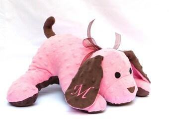 Personalized Stuffed Puppy Medium