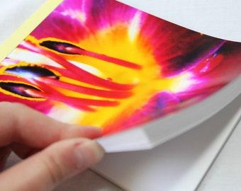 Notebook/Sketchbook/Journal - 4x6 - Ablaze - Original Photograph