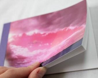 Notebook/Sketchbook/Journal - 4x6 - Eye of the Storm - Original Photograph