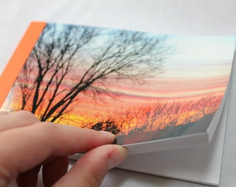 Notebook/Sketchbook/Journal - 4x6 - Sunset - Original Photograph