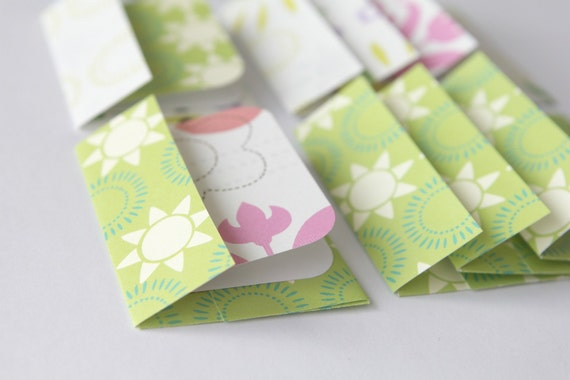 Mini Cards n Envelopes - Set of 8 - Fun in the Sun