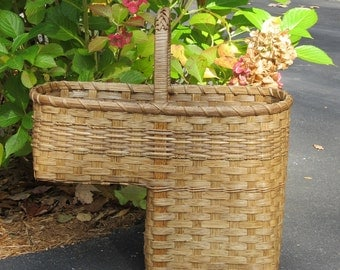 Stair Basket / Step Basket / Stair Step Basket / Handwoven Basket