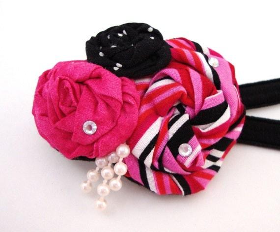 Headband, Fabric Headband, Hair Accessory