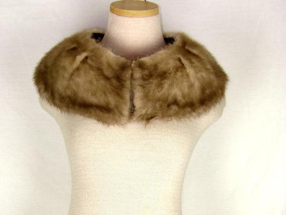 1950s-1960s Mink Fur Collar