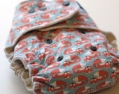 Persnickety Fox Fitted Cloth Diaper