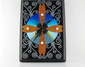 VICTORIAN LACE Gothic Style Recycled Eco-Friendly Wall Clock