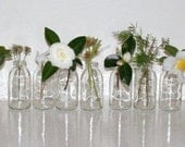Reserved listing for bl1988. SPRING WEDDING DECOR.Eleven upcycled flower vases bottles.Great for weddings.Spring Celebrations.