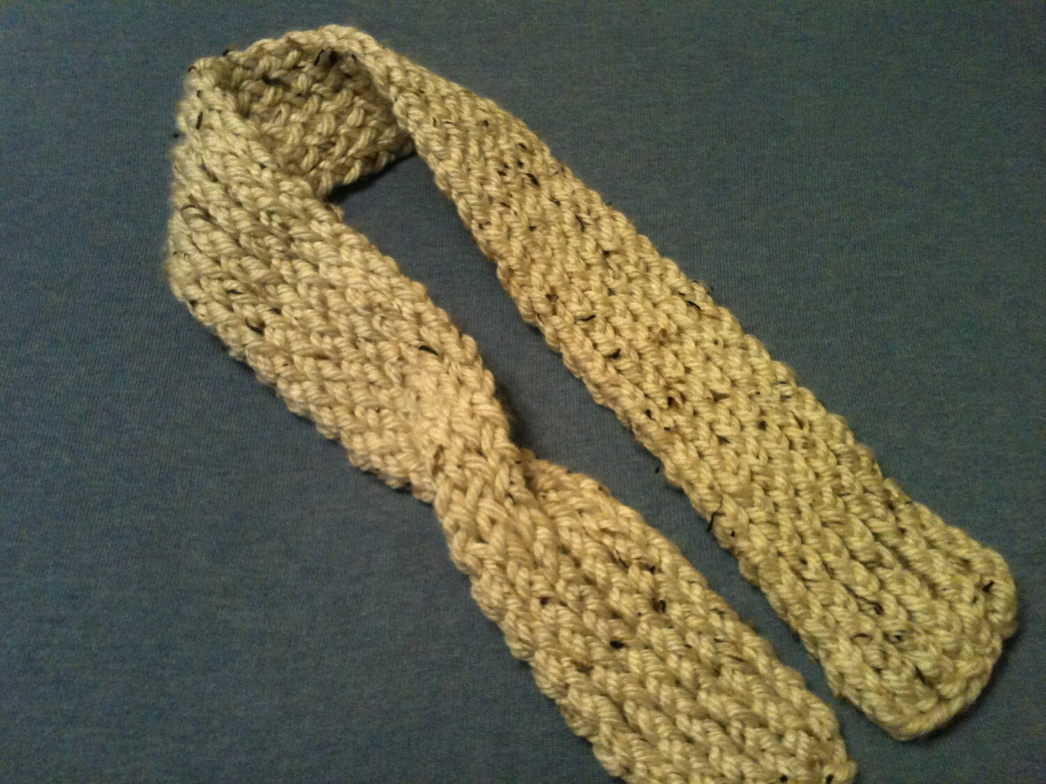 Loom Knit Keyhole Scarf PATTERN from GoodKnitKisses on Etsy Studio