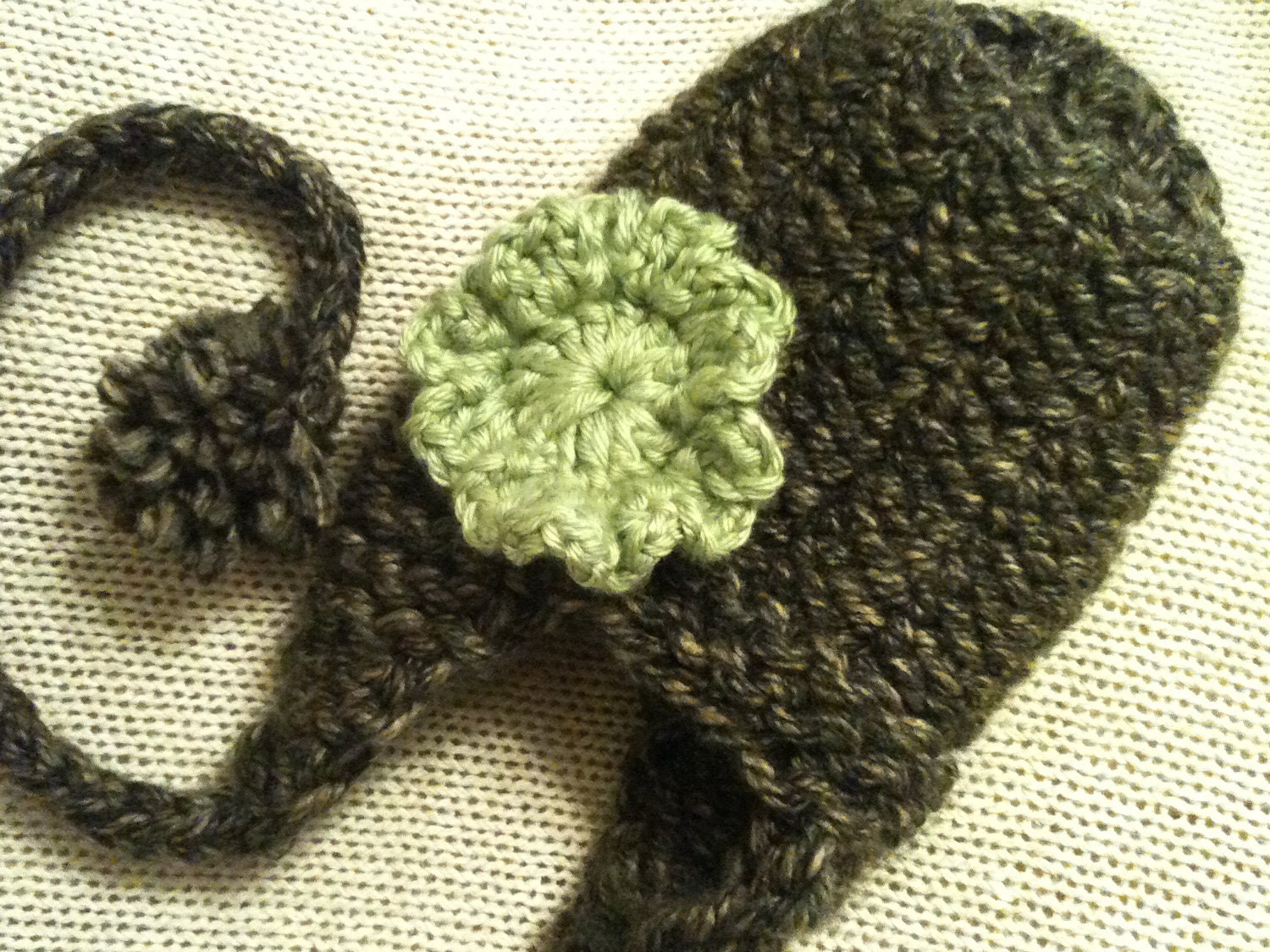 Loom Knit Baby Hat With Ear Flaps : Loom knit earflap hat pattern mossy with