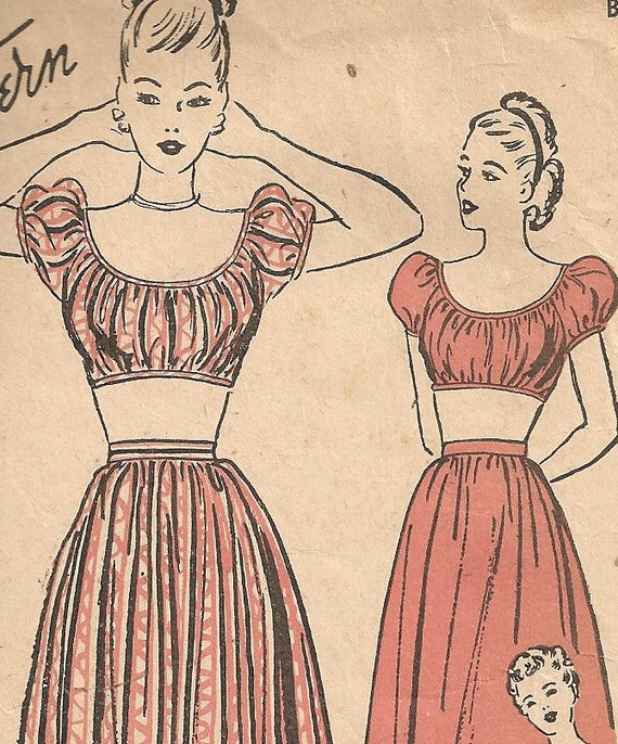 Gypsy Blouse Sewing Pattern