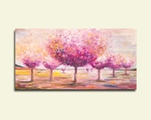 Tree art on canvas print 40/80 cm. Fine art - contemporary Artwork by Dina Argov