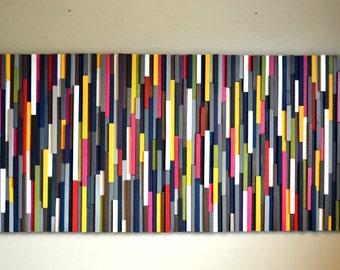 Modern Wood Sculpture Wall Art - Wood Artwork
