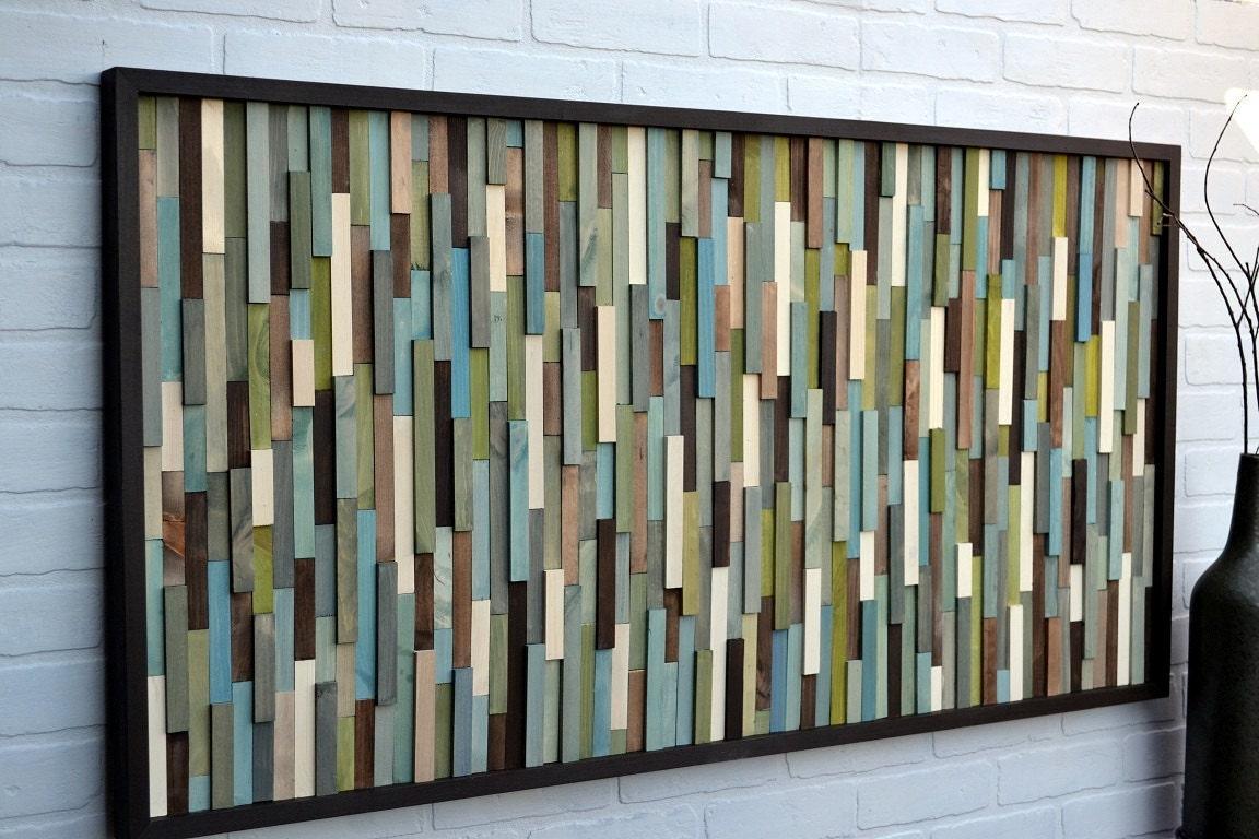 Wall Art In Wood : Wall art wood reclaimed sculpture