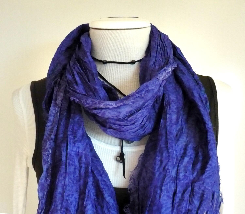 ON SALE Silk scarf handmade Raw Silk edges Shawl Fall Winter woman  Handmade Scarves For Sale Online