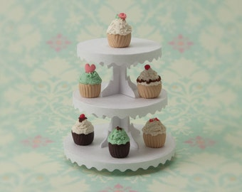 Miniature Dessert Tower Kit: White