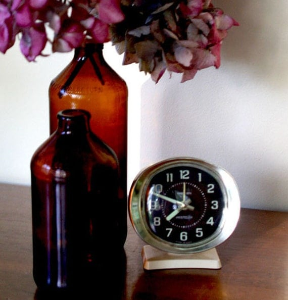 Vintage Westclox Baby Ben Wind Up Alarm Clock By