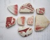 Scottish Scarlet Sea Pottery SP614