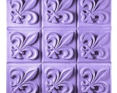 Fleur de Lis soap mold