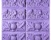 Thistle and Buttercup soap mold