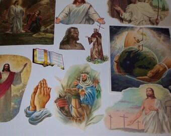 Vintage Ephemera - Religous Jesus Faith