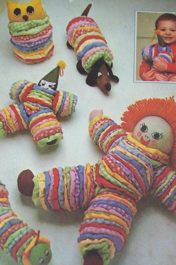 Sale vintage simplicity pattern 8225 fabric yo yo circle for Yo yo patterns crafts
