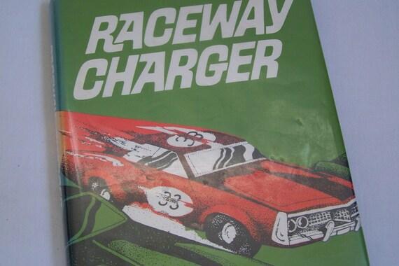 Vintage 1974 RACEWAY CHARGER Children's Book Ogan