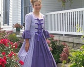 Historical Victorian Ball Gown. Girls sizes 4-16 Ladies sizes 2-22