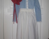 Early American Dress. Little House on the Prairie style clothes. Girls sizes 4- 14