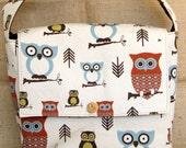 Hooty The Owl Diaper Bag/ Messenger Bag
