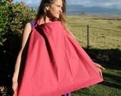 Eco Friendly - Nursing Cover- Breastfeeding Cover - Baby Shower- Organic Cotton Hemp  - Ready to Ship